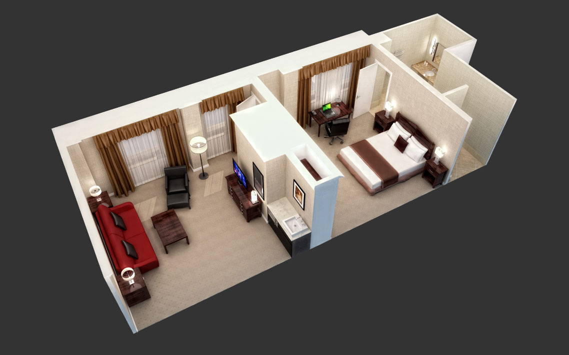 Floor Plan Design & Rendering