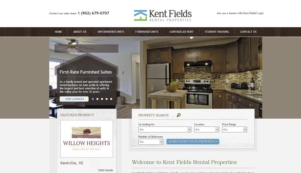 Real Estate Website Design Property Portal Greg Fisher Gorgeous Apartment Website Design Property