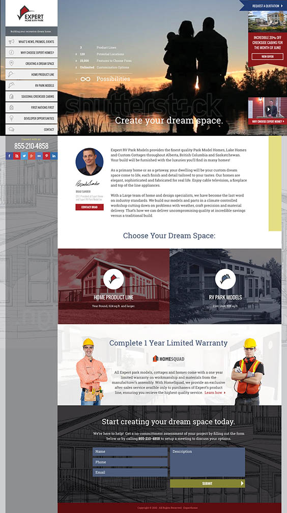 Expert Home - Homepage