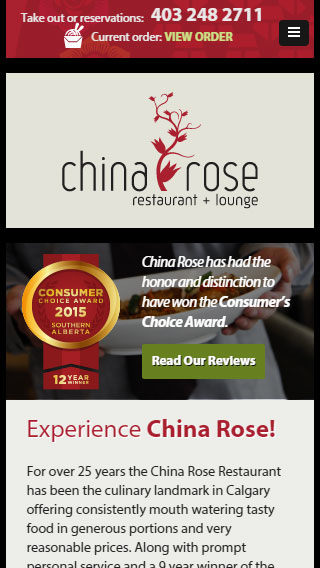 China Rose Website