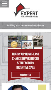 Expert Homes Website