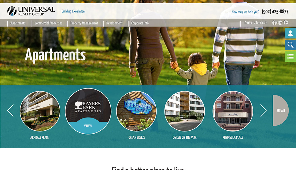 Universal Properties Web Design
